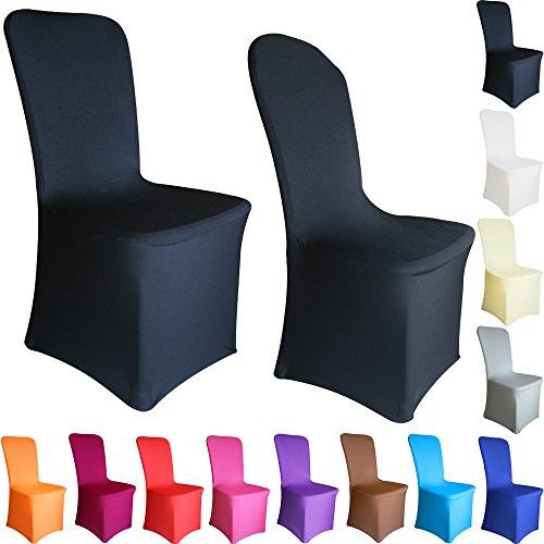 TtS-1102050100-Pices-Housse-de-Chaise-Extensible-Elasthanne-Lycra-Couverture-Dcoration-Mariage-Crmonie-Banquet-Plat-Devant-12-Couleurs-Disponibles