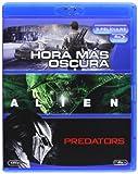 La Hora Mas Oscura + Alien 1 + Predators (Blu-Ray) (Import) (2014) Mt Ahern;
