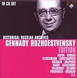 Songtexte von Gennady Rozhdestvensky - Historical Russian Archives: Gennady Rozhdestvensky Edition