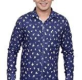 Ivory Men's Casual Cotton Shirt (2942-Wh...
