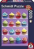 Schmidt Spiele 58217 - Cupcakes-Spaß, 1.000 Teile, Klassische Puzzle