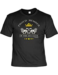 Modicana® T-Shirt zum 50. Geburtstag - Proud Member of the 50+ Club - Funshirt