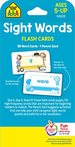 Sight Words: Flashcards