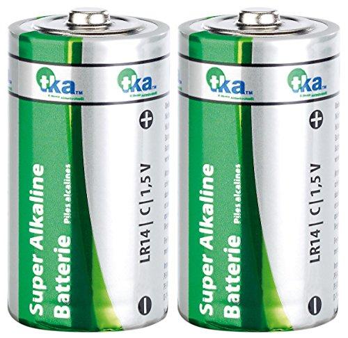 tka Köbele Akkutechnik Super Alkaline Batterien Baby 1,5V Typ C im 2er-Pack