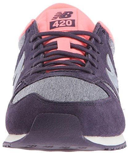 New Balance 420, Baskets Basses Femme Prune