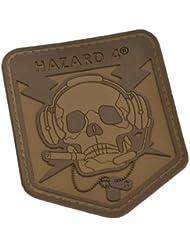 Hazard 4 3D Operator Skull Morale pièce Coyote