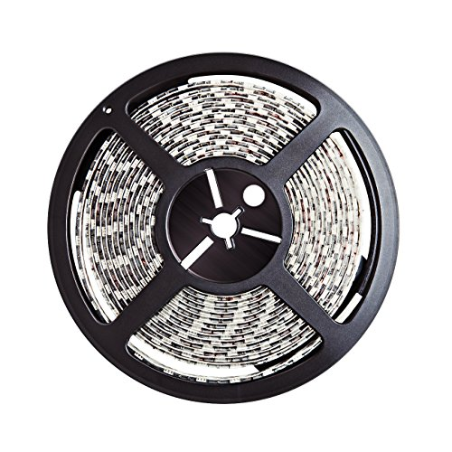Inateck - Tira de Luz Impermeable LED flexible,16.4ft / 5M ,5050 R