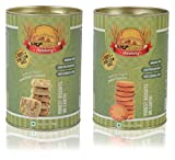 #3: Aataberry Biscotti Fruit Kaju and Jeera Cookies, 150 Grams (Combo of 2)