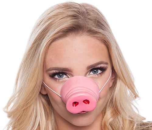 Schweinchen Schnauze als Verkleidung ┃ Karneval ┃ Kindergeburtstag ┃ Fasching ┃ Kinder lieben diese Schweine Nase (Schwein Nase)