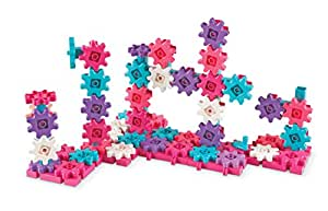 Learning Resources Gears Gears Gears! 100-Piece Deluxe Building Set - Pink