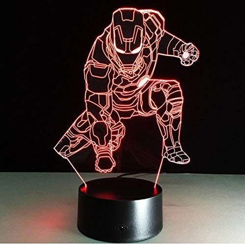 sel Stimmung Lampe Flash Spielzeug Coole Film Charakter Zahlen Party Halloween Geschenk ()