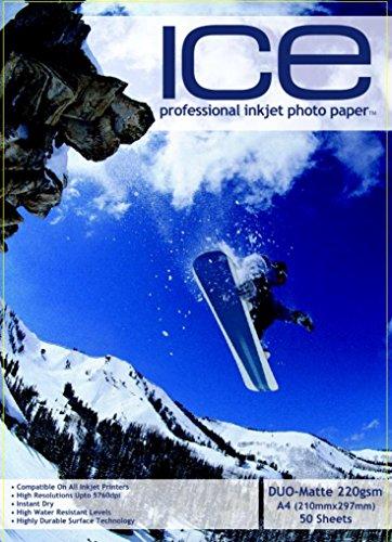 150 x ICE A4 Carta Fotografica Doppia Faccia...