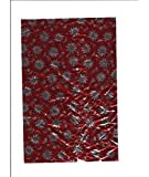 #10: Okayji - Aluminium Printed Chocolate Wrapping Wrapper Paper 50 Sheets Pack