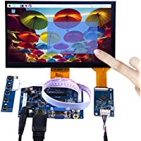GeeekPi 7 Inch 1024x600 Capacitive Touch Screen LCD Display HDMI Monitor DIY Kit for Raspberry Pi / Beagle Bone Black / PC / MacBook