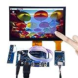 geeekpi 7 INCH 1024 x 600 Capacitive Touch Screen LCD Display HDMI Monitor DIY Kit for Raspberry Pi/Beagle Bone Black/PC/MacBook