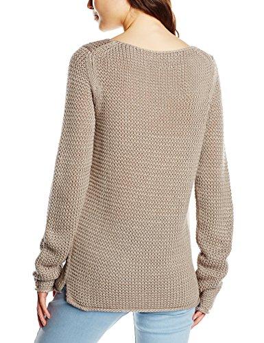 Marc O'Polo Damen Pullover W07 5053 60071 Grau (taupe grey 922)