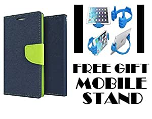 Samsung Galaxy C9 Pro Flip Cover Mercury Case With Free Mobile Stand By ITbEST