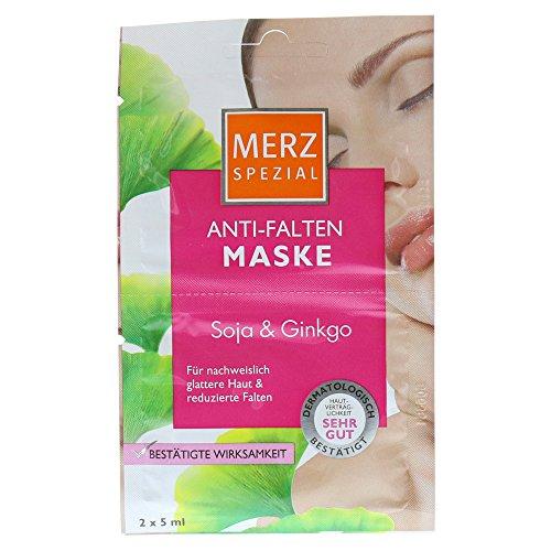 MERZ Spezial Anti Falten Maske Soja+Ginkgo 10 ml Gesichtsmaske