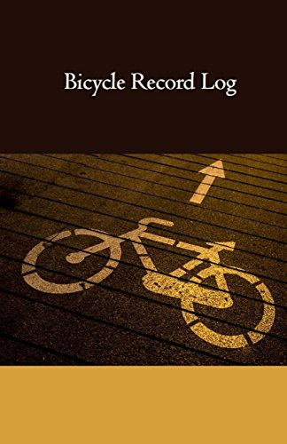 Bicycle Record Log: Pocket Sized