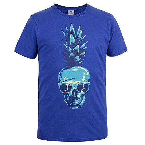 Urban Beach Pineapple, T-Shirt Uomo Blue