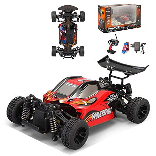 Skryo-Spielzeug WLtoys A202 2.4G 4WD Control remoto todoterreno Desert Buggy Racing Car US Shipper