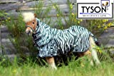 Fliegendecke Zebra Minishetty Mnipony Shetty Falabella Decke 65 70 75 80 85 90 cm (85 cm)