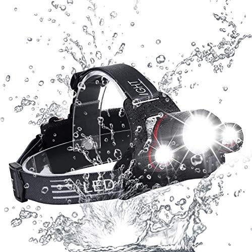 2018 NOVITÀ Il migliore e il migliore faro LED Design 18000 Lumen torcia-MIGLIOR CREE LED Usb Ricaricabile 18650 torce faro Impermeabile Hard Hat Luce Bright Head Lights Camping Running headl