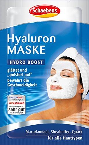 Schaebens Hyaluron Maske 15er Pack (15 x 10ml) (Gesichtsmaske Hyaluronsäure)
