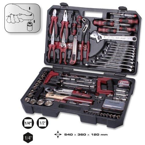 Kraftwerk 114-t. Universal-Werkzeugkoffer KWJ 1041