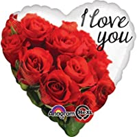 Amscan standard-h i Love you rose bouquet balloon