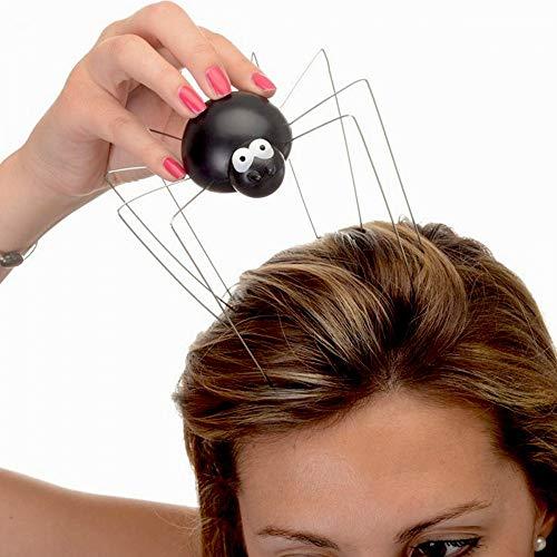 Massaggiatore di testa ragno Spider nero la chaise longue 34-2s-013