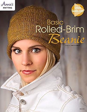 Basic Rolled-Brim Beanie Knit