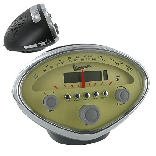 Vespa Radio Alarm Clock by Polyflame