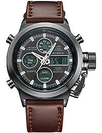Relojes Deportivo para Hombre Reloj Digital Militar Resistente al Agua para Hombres Relojes Casuales Multifuncionales del