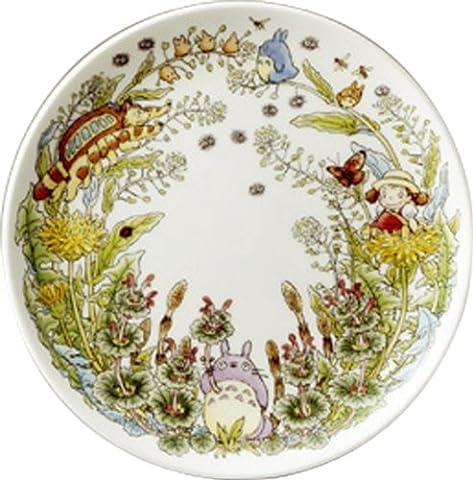 Tonari no Totoro Noritake Bonn China 23 cm plate (dandelion