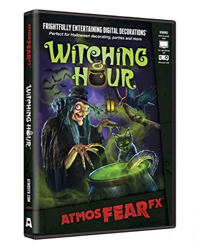 (Horror-Shop Hexenstunde Halloween Effekt DVD für Beamer, TV & Monitor)