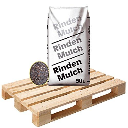 28 Sack Rindenmulch á 50 Liter = 1400 Liter Mulch in Gärtnerqualität