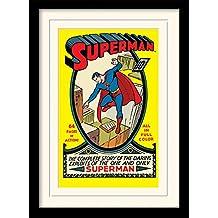 Superman - No.1 Póster De Colección Enmarcado (40 x 30cm)