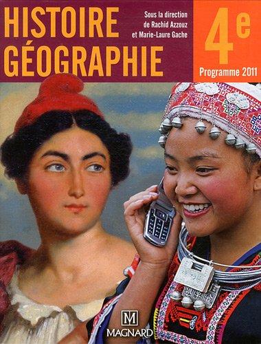 Histoire géographie 4e : Manuel élève