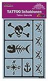 Kreul 62145 - Tattoo Schablone Party of the pirates, ca. 14,8 x 10,4 cm