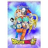 Clairefontaine 812802C - Un Bloc de coloriage Dragon Ball Super 21x29, 7 cm 84 pages...