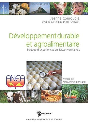 Développement durable et agroalimentaire