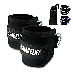 [EXTRA STRONG] Premium foot straps (2 pieces) - Padded - Perfect for leg training on the cable - Free carrying bag - Flexibly adjustable for every workout and butt workout