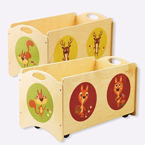 Dida - I Pancotti - panca portagiochi in legno - contenitore base...