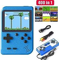 Etpark consola de juego de mano, máquina de juego retro con 400 juegos clásicos de FC, pantalla de 2,8 pulgadas, soporte...