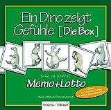 Ein Dino  zeigt Gefühle - Die Box: Dino im Doppel - Memo & Lotto