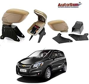 Car Armrest Centre Console Hand Rest - Beige for Chevrolet Sail Uva