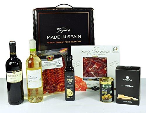 Tapas Made in Spain 1 - El exclusivo surtido que recoge lo mejor de la gastronomía de España - Tapas Made in Spain - 'Lo mejor de las Tapas, es compartirlas'