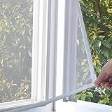Silk Road Magnetische gardine, Anti-moskito-bug Unsichtbar Magnetische bildschirm vorhänge Entfernbar Fenster-schutthalden Staub Bildschirm-Weiß 60x120cm(24x47inch)