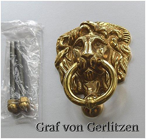 Klopfer wie  Antik Mittelalter Türklopfer Kreuzrose